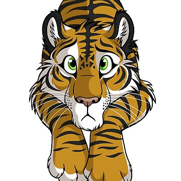 STUCK - Brown Tiger by tanidareal