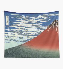Fine Wind, Clear Morning / Red Fuji | Japan Wall Tapestry