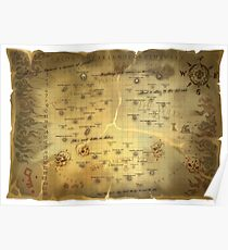 Sea of Thieves Map Poster