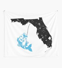 Florida Fishermen Gift Wall Tapestry