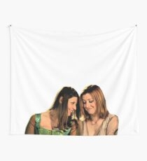 Willow & Tara - Under Your Spell, Buffy the Vampire Slayer, BtVS, 90s, Joss Whedon, Sunnydale, LGBTQ, Gay Pride, Tara Maclay, Willow Rosenberg Wall Tapestry