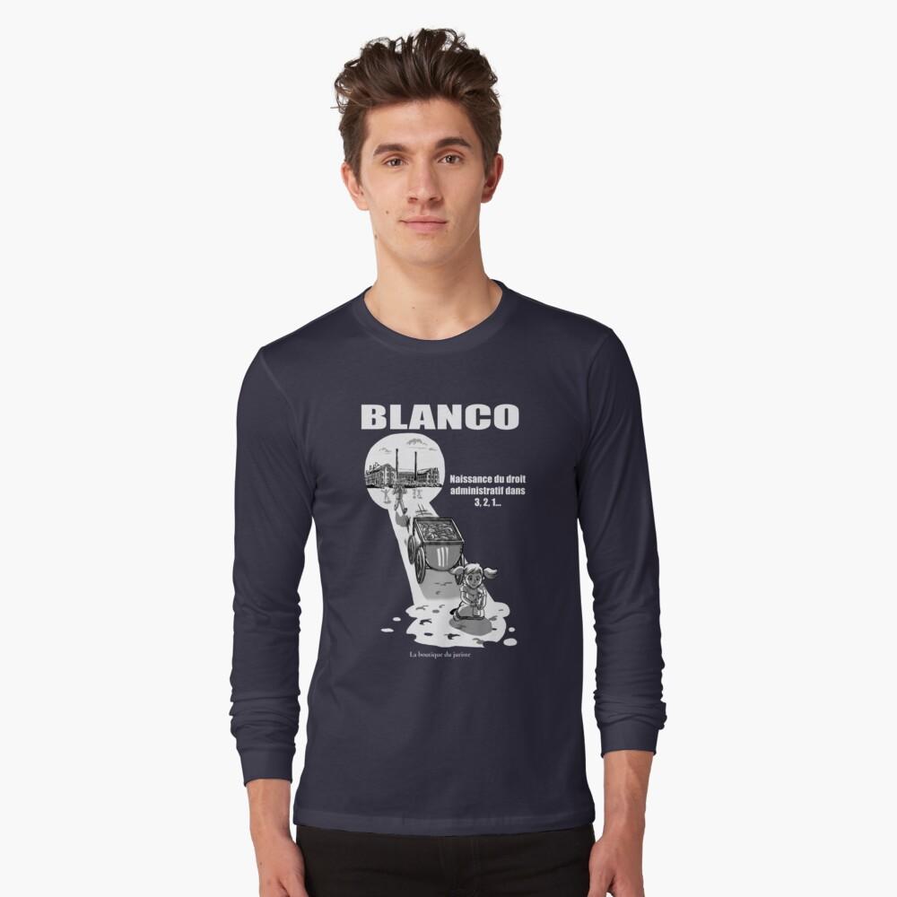 T-shirt manches longues «Blanco»