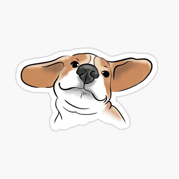 Funny Beagle Sticker