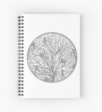 Tree of People Life Spiral Notebook