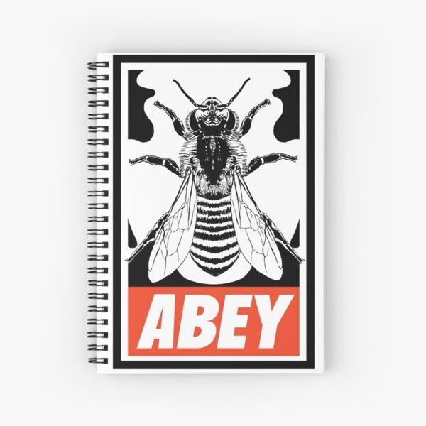 Abey Spiral Notebook