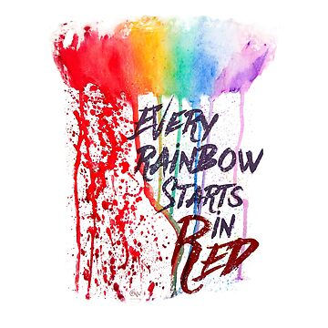Every Rainbow Starts In Red by AmisWormhole