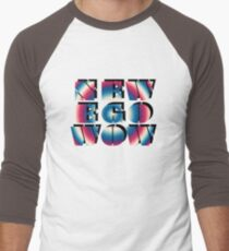 New Ego Wow – Two Men's Baseball ¾ T-Shirt