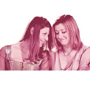 Willow & Tara - Pink Under Your Spell, Buffy the Vampire Slayer, BtVS, 90s, Joss Whedon, Sunnydale, LGBTQ, Gay Pride, Tara Maclay, Willow Rosenberg by earthengoods