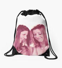 Willow & Tara - Pink Under Your Spell, Buffy the Vampire Slayer, BtVS, 90s, Joss Whedon, Sunnydale, LGBTQ, Gay Pride, Tara Maclay, Willow Rosenberg Drawstring Bag