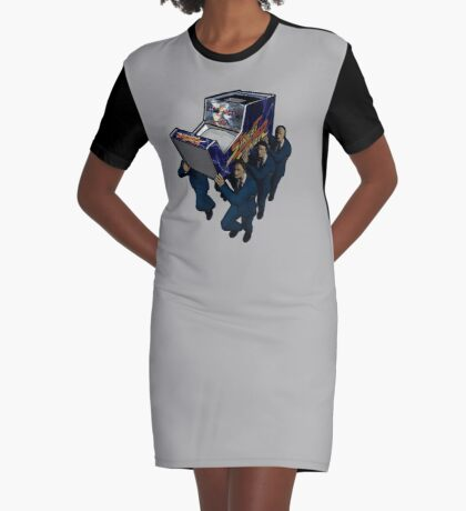 Game Over Ceremony Graphic T-Shirt Dress