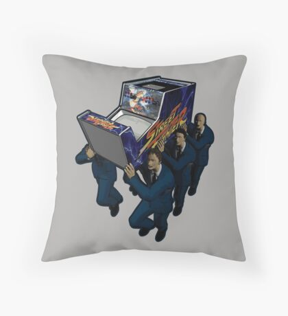 Game Over Ceremony Throw Pillow