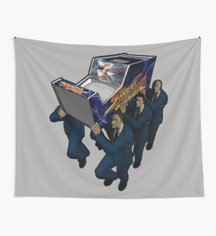 Game Over Ceremony Wall Tapestry
