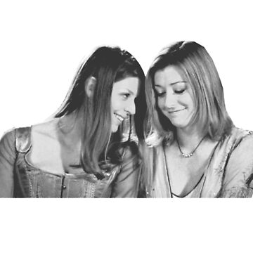 Willow & Tara - B&W Under Your Spell, Buffy the Vampire Slayer, BtVS, 90s, Joss Whedon, Sunnydale, LGBTQ, Gay Pride, Tara Maclay, Willow Rosenberg by earthengoods