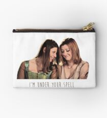 Willow & Tara - I'm Under Your Spell, Buffy the Vampire Slayer, BtVS, 90s, Joss Whedon, Sunnydale, LGBTQ, Gay Pride, Tara Maclay, Willow Rosenberg, Once More With Feeling Studio Pouch