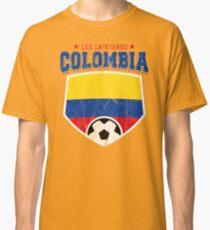 2018 Colombia Soccer Team World Jersey Cup Classic T-Shirt 28069e7a5