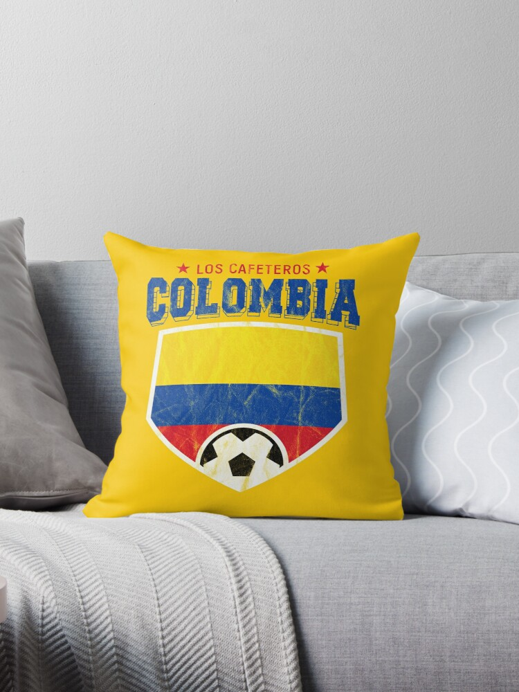 6dc699c01db 2018 Colombia Soccer Team World Jersey Cup
