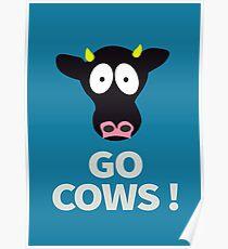Gehen Sie Kühe Poster aus South Park - Büro Version des Direktors Poster