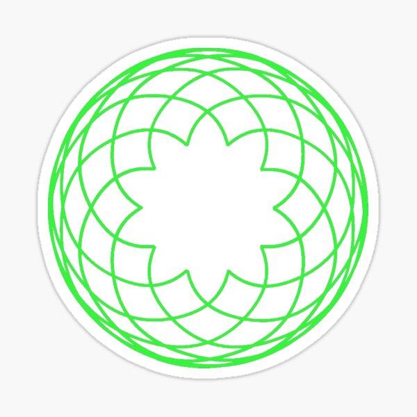 Homestuck Spirograph (Gates) Sticker