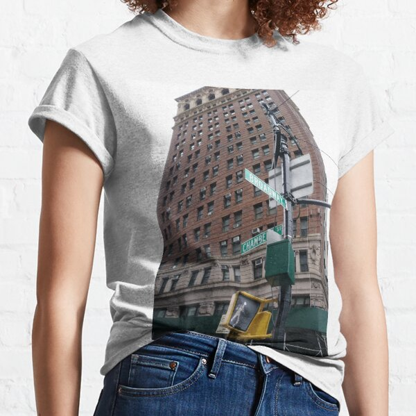 Apartment, #Apartment, pattern, design, tracery, weave, #pattern, #design, #tracery, #weave, New York, #NewYork, Manhattan, #Manhattan Classic T-Shirt
