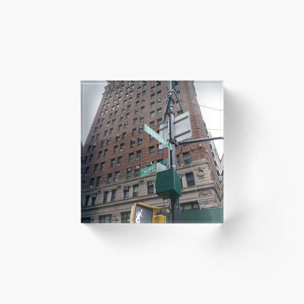 Apartment, #Apartment, pattern, design, tracery, weave, #pattern, #design, #tracery, #weave, New York, #NewYork, Manhattan, #Manhattan Acrylic Block