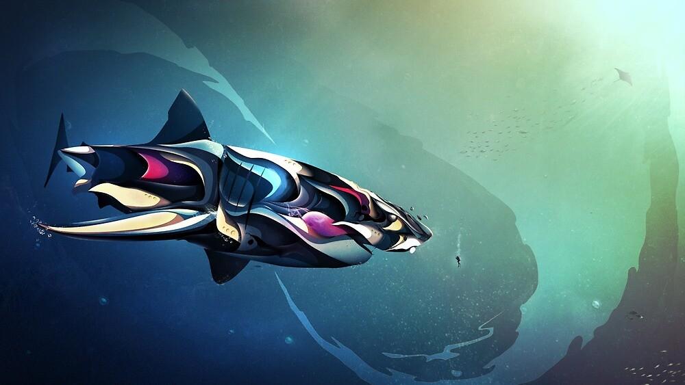 « Carcharodon » par MXRBNK