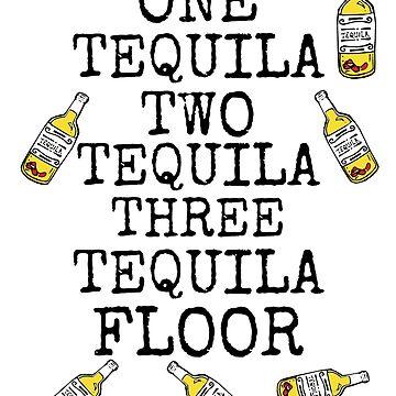 One Two Three Tequila FLOOR by palmbeachfla