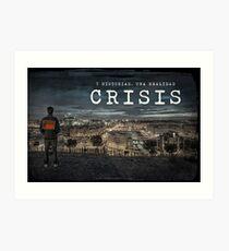 CRISIS Teaser Poster (Versión Ciudad) Lámina artística