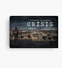 CRISIS Teaser Poster (Versión Ciudad) Lienzo