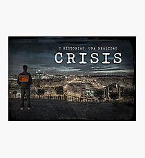 CRISIS Teaser Poster (Versión Ciudad) Lámina fotográfica