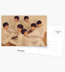 BTS FAKE LOVE Postcards