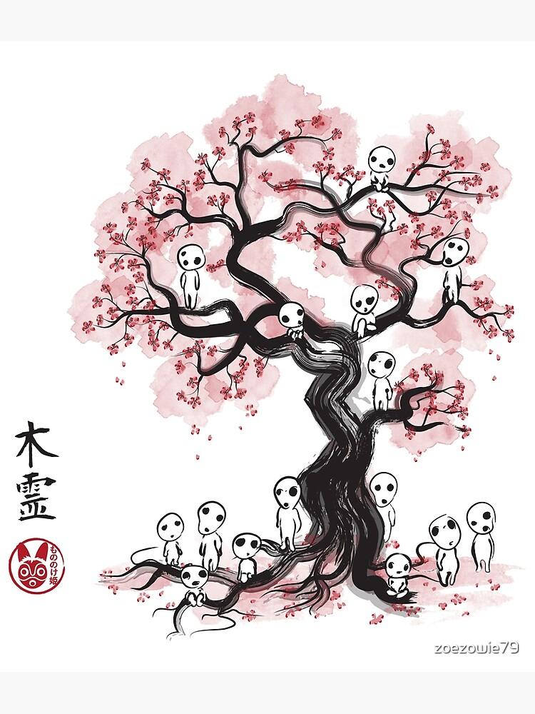Sakura Tree Template by zoezowie79