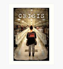 CRISIS Teaser Poster (Versión Metro) Lámina artística