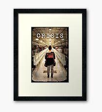 CRISIS Teaser Poster (Versión Metro) Lámina enmarcada