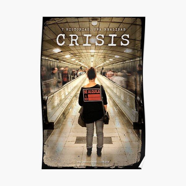 CRISIS Teaser Poster (Versión Metro) Póster