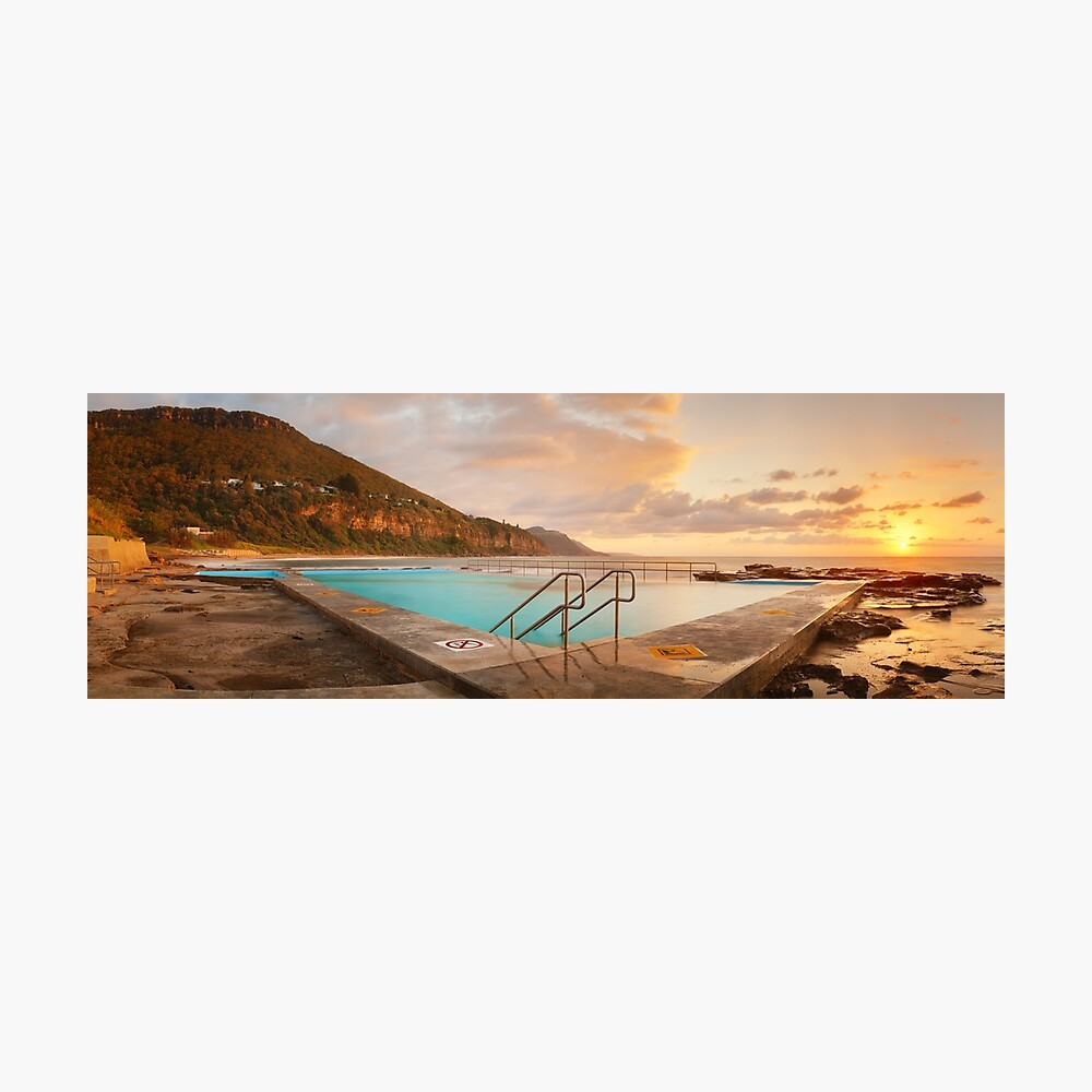 Coalcliff Rock Pool, New South Wales, Australia Photographic Print