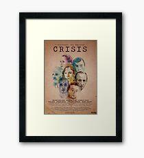 Cartel oficial de CRISIS Lámina enmarcada