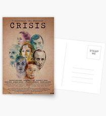 Cartel oficial de CRISIS Postales