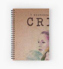 Cartel oficial de CRISIS Cuaderno de espiral