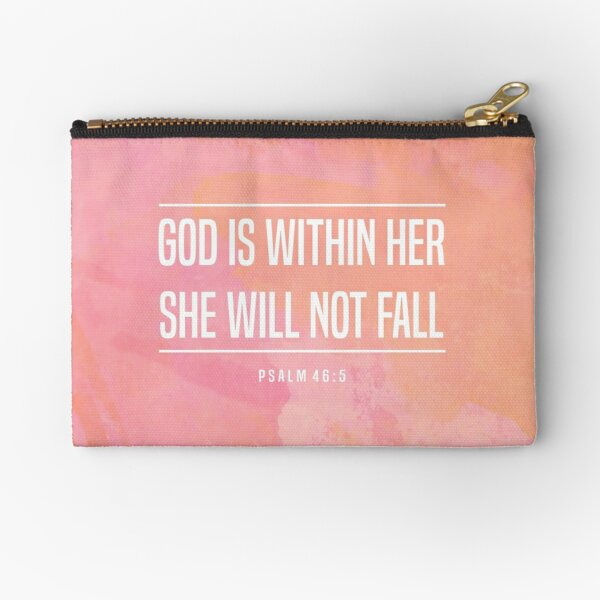 Christian Quote Zipper Pouch