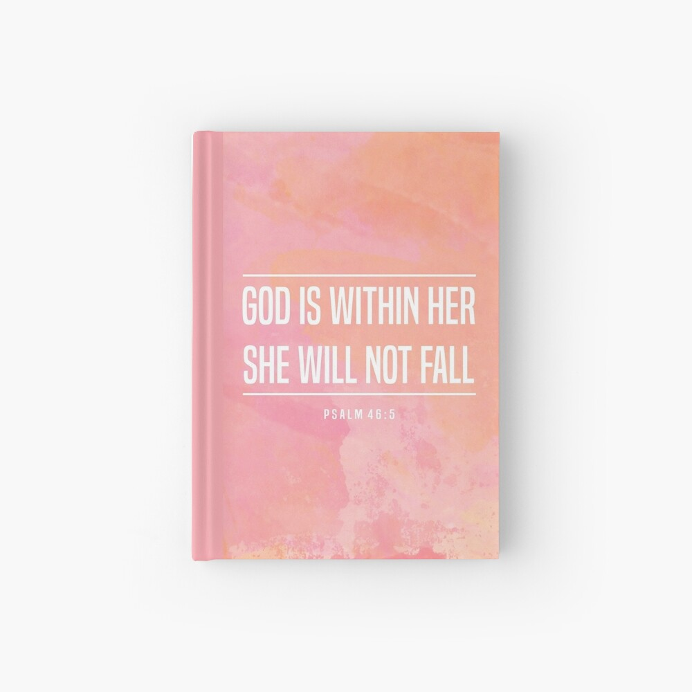 Christian Quote Hardcover Journal