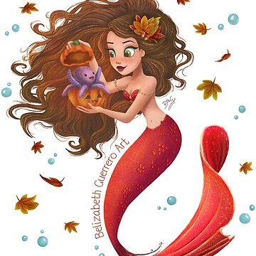Autumn Mermie by belizabethg