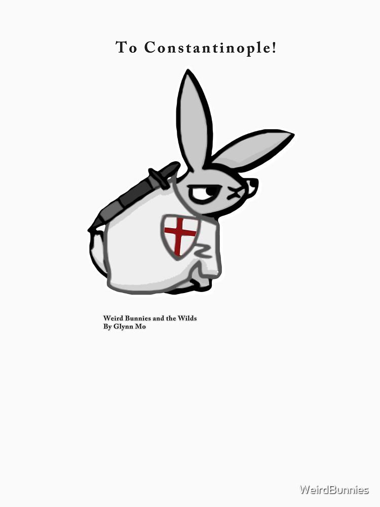 Crusader Bunny by WeirdBunnies