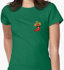 Sombrero Chilli Women's Fitted T-Shirt