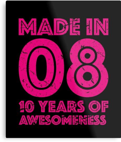 10th Birthday Gift Kids Age 10 Year Old Girl Girls By Matt L