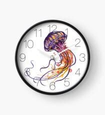 Qualle Uhr