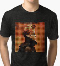DAVID BOWIE - LOW - DOTS Tri-blend T-Shirt