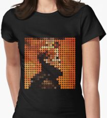 DAVID BOWIE - LOW - DOTS Women's Fitted T-Shirt