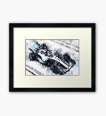 Lewis Hamilton 2018 Framed Print