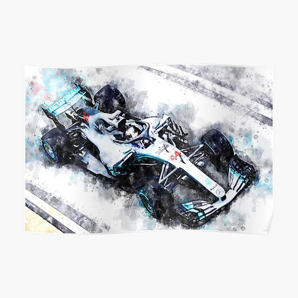 Lewis Hamilton 2018 Póster