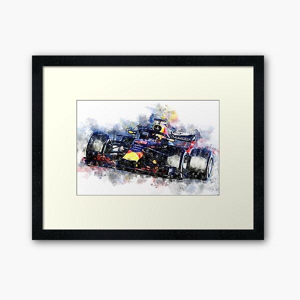 Daniel Ricciardo F1 2018 Framed Art Print